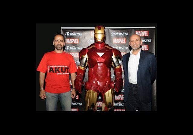 Türkiye'nin Kahramanları ile Marvel'in Kahramanları Buluştu