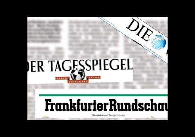 Alman medyası ziyareti böyle gördü