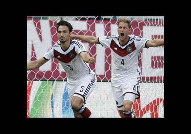 Almanya gol olup yağdı