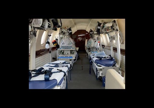 Ambulans Uçağın Tanıtımı Yapıldı