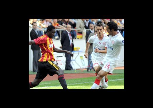 Kayserispor:0 Antalyaspor:1