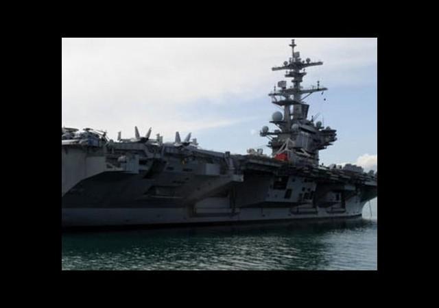ABD'nin yüzen adası Akdeniz'de demirledi