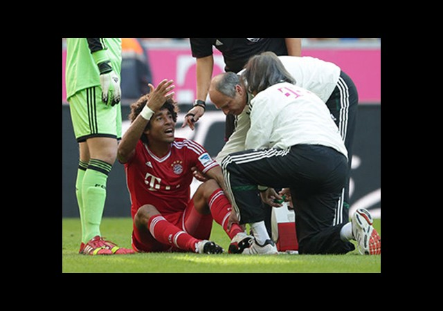 Bayern Münih'te Dante Üzüntüsü