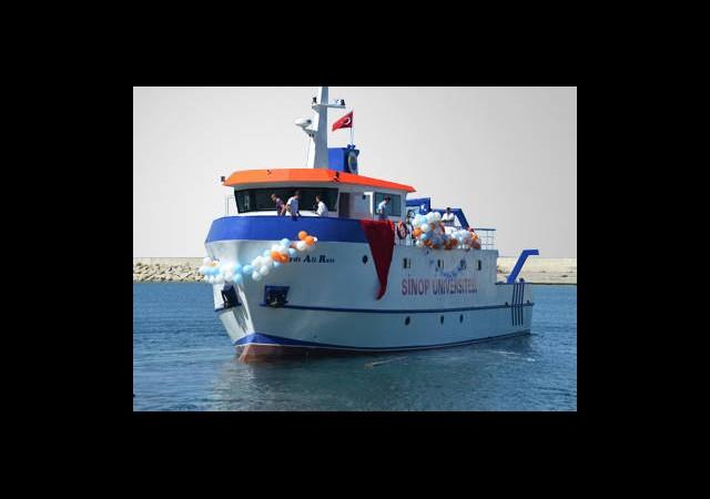 İlk Yerli Araştırma Gemisi Denize İndirildi