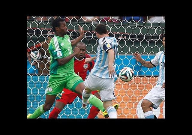 Gol düellosunun galibi Arjantin
