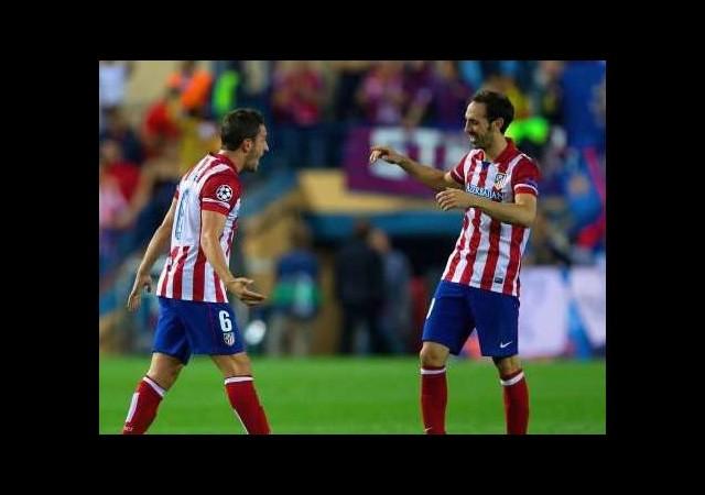 Atletico Madrid'de imzalar atıldı