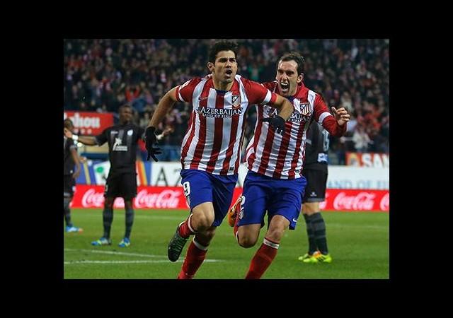 Atletico Madrid Maç Fazlasıyla Lider!