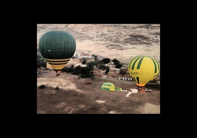 Mısır'da Balon Faciası: 19 Ölü