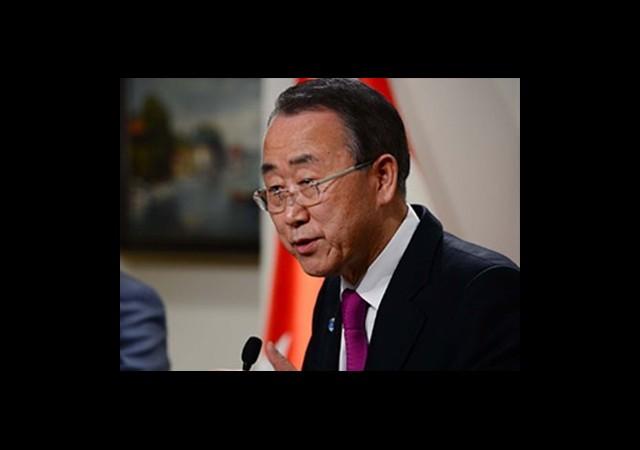 Ban Ki-Mun'dan 'Acizlik' Vurgusu