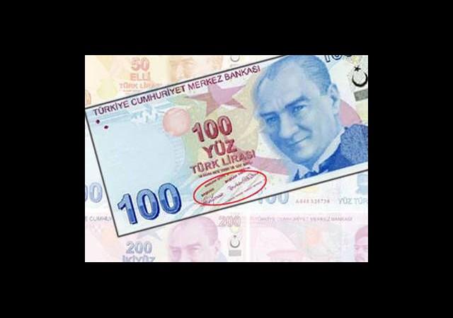 TL Banknotlardaki İmza Değişiyor
