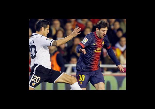 Barcelona'ya Valencia Çelmesi!