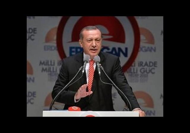 Başbakan Erdoğan merakla beklenen toplantıda konuştu