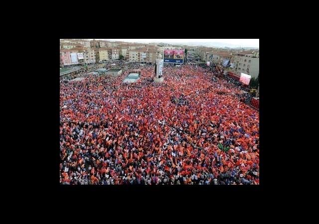 Sincan'dan 'Gezi'ye Mesaj