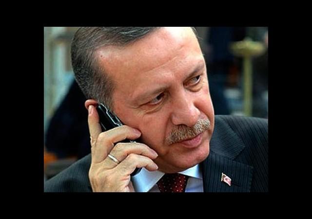 Başbakan'dan Patriot Telefonu