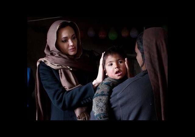 Taliban'dan Angelina Jolie Açıklaması