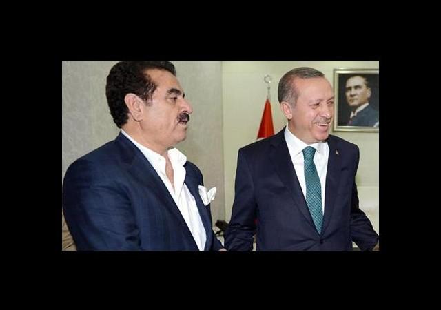 İbrahim Tatlıses'ten Başbakan Erdoğan'a teşekkür
