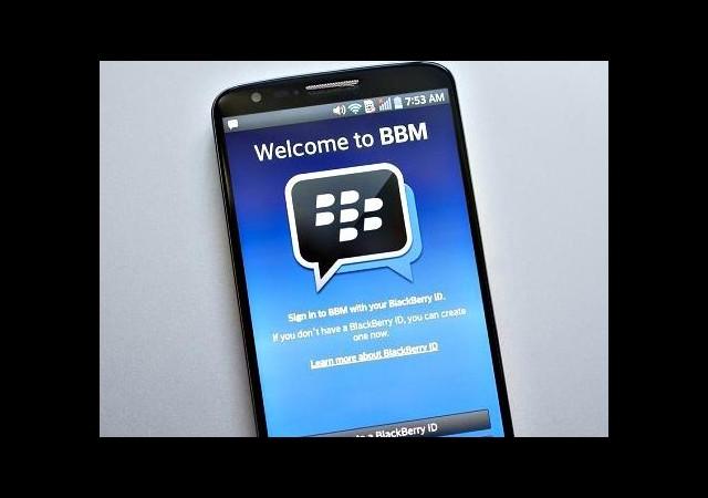 LG ile BlackBerry, BBM İçin Masaya Oturdu!