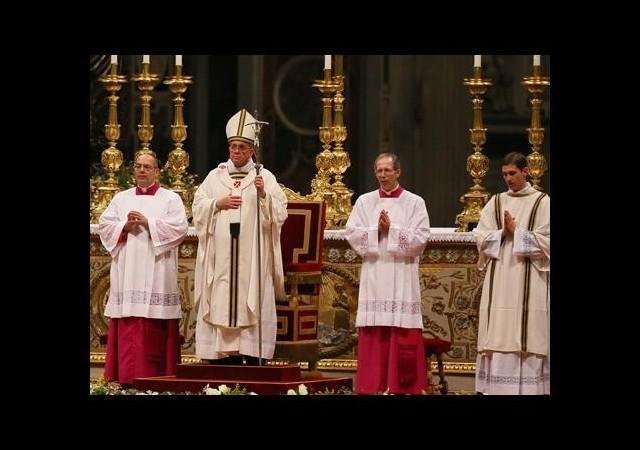 Papa Franciscus için Bir İlk