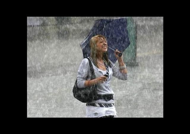 Bu yağmurlarda mutlaka ıslanın!