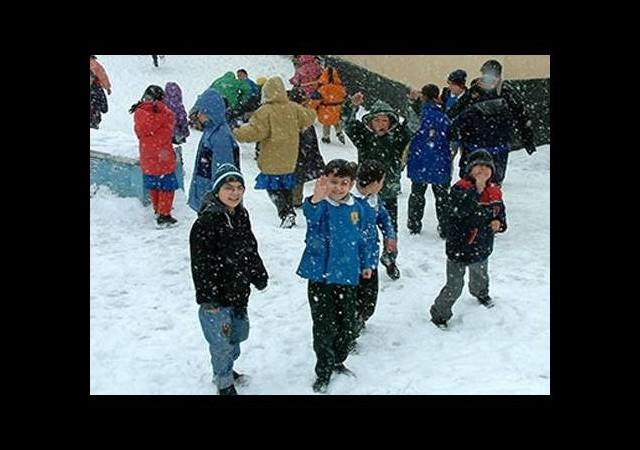 Ankara'da da okullara kar tatili