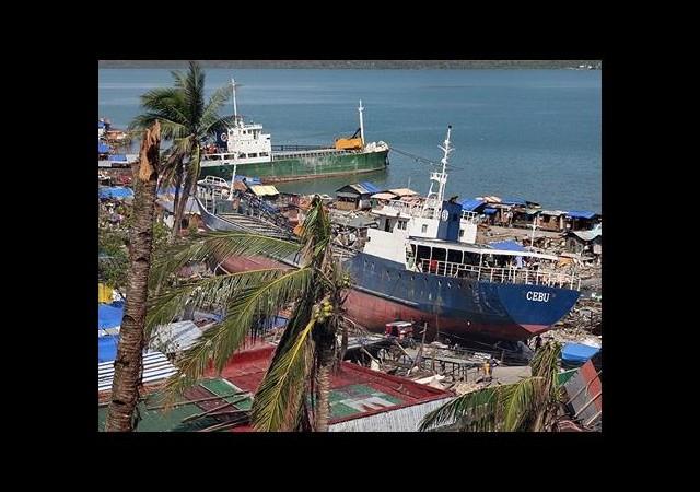 Tayfunun 'Sembol' Gemilerine Korumalı Önlem