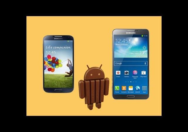 S4 ve Note 3'e KitKat Geliyor!