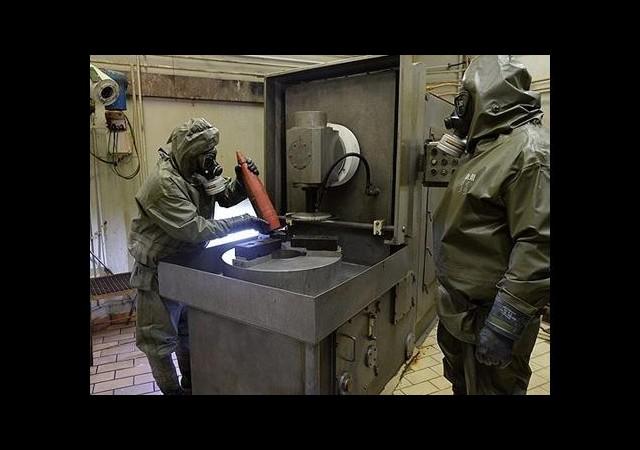 Kimyasal Silahlar Latakya Limanı'ndan Çıkarılacak