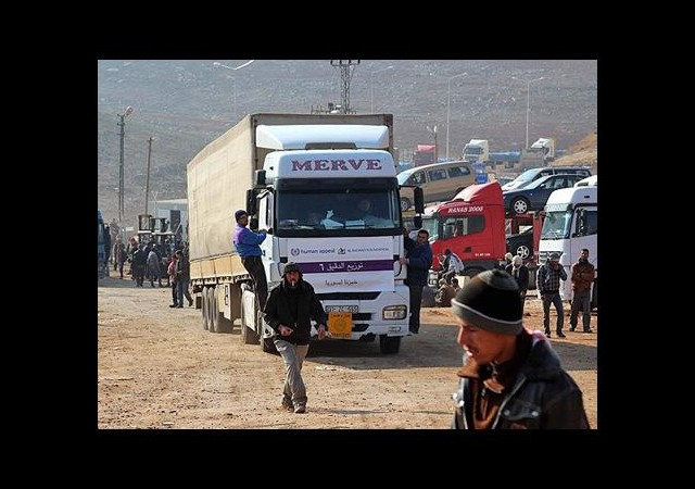 Suriye'nin nefes borusu 'tır aktarma alanı'