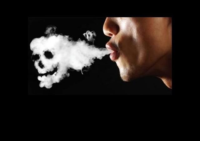 Günde bir paket sigara içen...