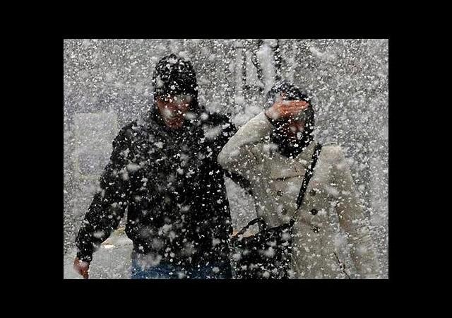 Ve kar yağışı başladı!