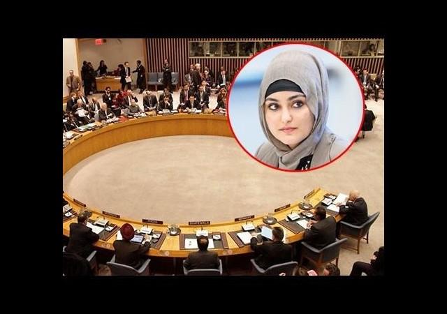 Türk kızından tüm dünyaya çağrı