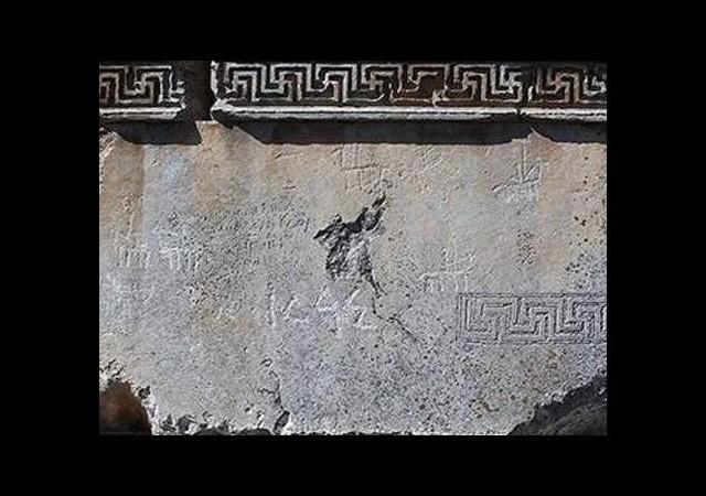 Zeus Tapınağı'nda 'Türk' izleri