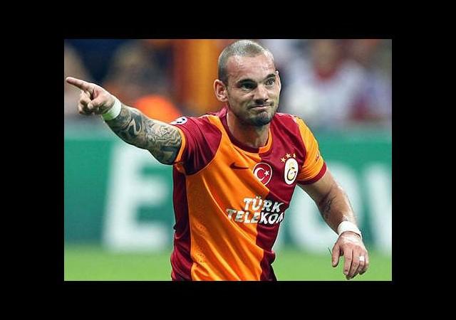 G.Saray'da Sneijder krizi!