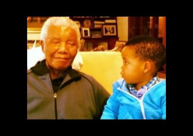 Nelson Mandela'nın Son Fotoğrafı