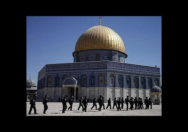 Yahudi Grupların Mescid-i Aksa'ya Girişi Engellendi
