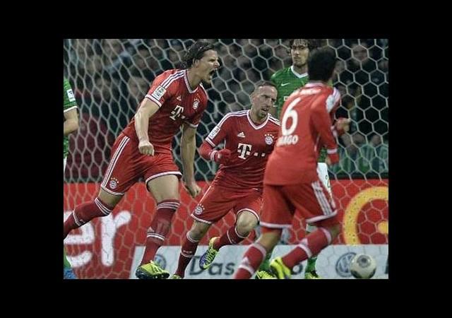 Bayern Münih '7' Bitirdi!