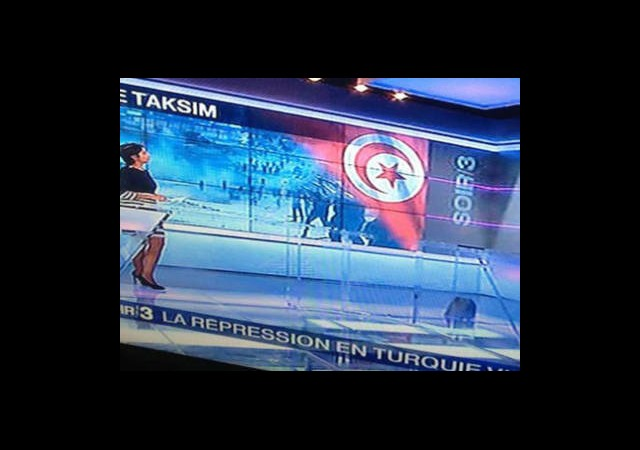 Fransız Kanalında Türk Bayrağı Skandalı