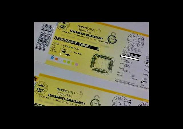 Bu Bilet 12 Bin TL
