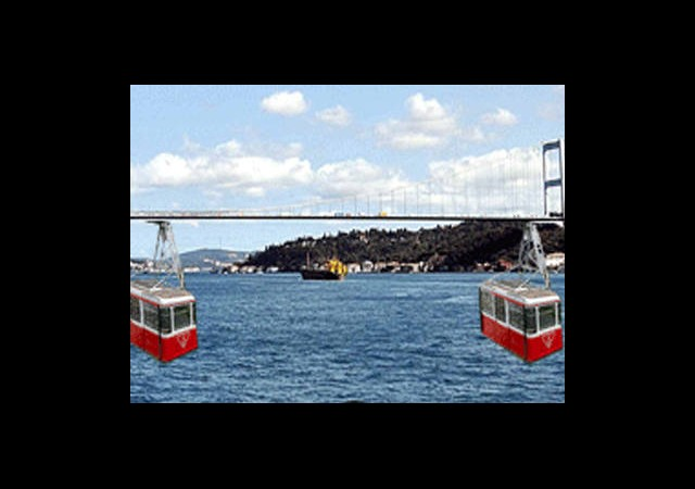 Boğaz'a Teleferik Projesi İlkokul Öğrencisine Ait!