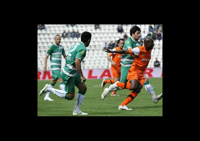 Bursaspor Eskişehir'i Yenemiyor