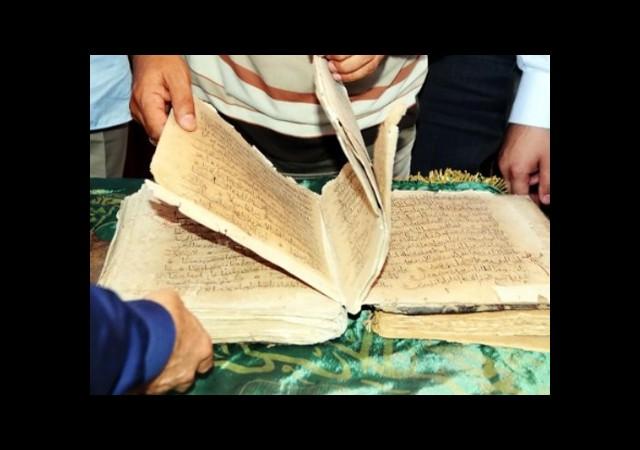 Caminin Deposundan 1200 Yıllık Kur'an Çıktı