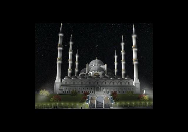 Türkiye'nin 7 Minareli İlk Camiisi Olacak