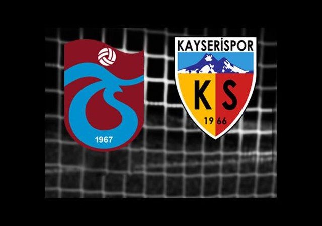 Trabzonspor-Kayserispor (Canlı Anlatım)