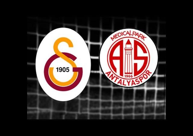 Galatasaray-Antalyaspor (Canlı Anlatım)
