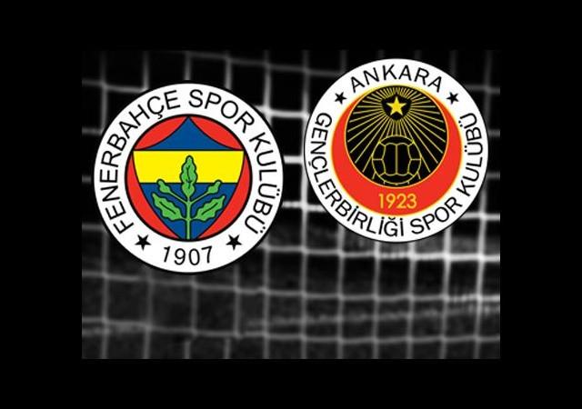 Fenerbahçe-Gençlerbirliği (Canlı Anlatım)