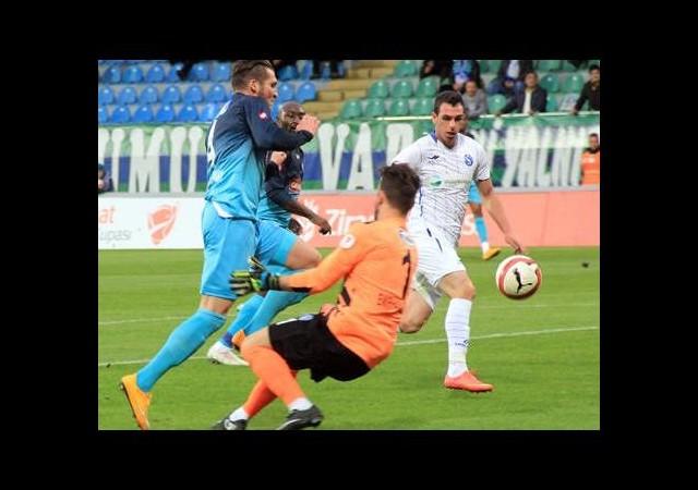 Rize Sarıyer'i tek golle geçti