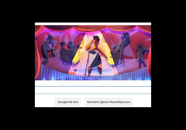 Google 'Cazın Kraliçesini' Böyle Andı!