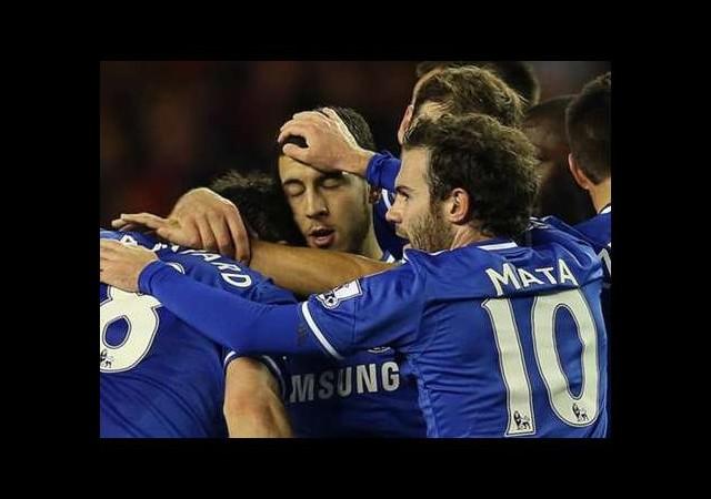 Gol Düellosu Chelsea'nin
