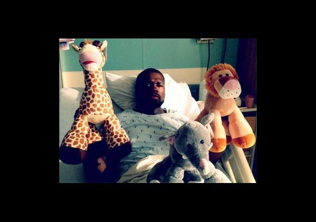 50 Cent Hastaneye Kaldırıldı