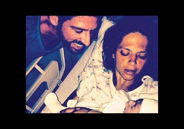 Ünlü çiftin bebek heyecanı